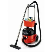 Numatic PVT-220A commercial tub vacuum and trolley